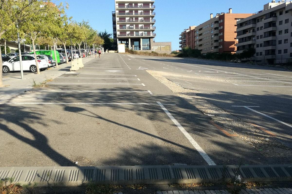 L'aparcament dissuasiu de Sant Pere i Sant Pau està tancat.