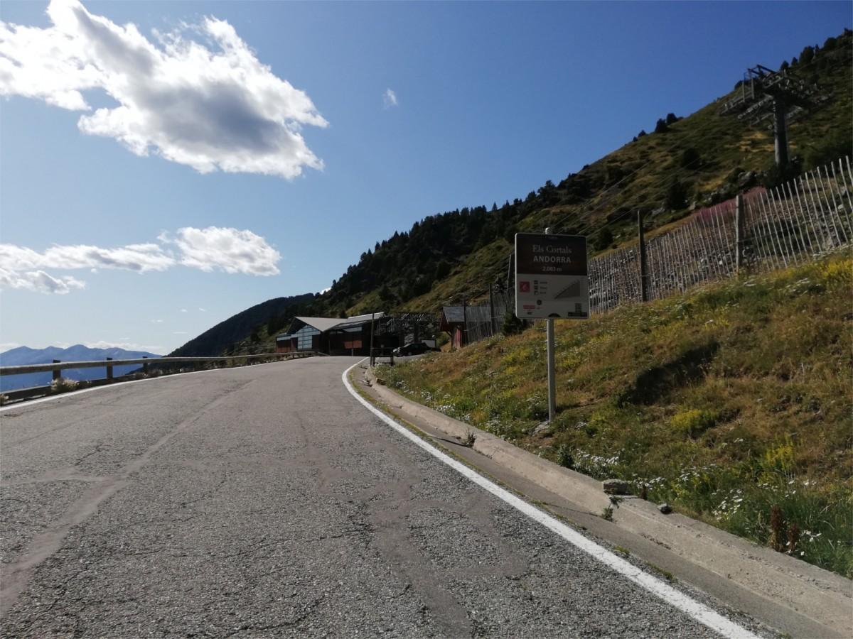 Els Cortals d'Encamp, final d'etapa a Andorra