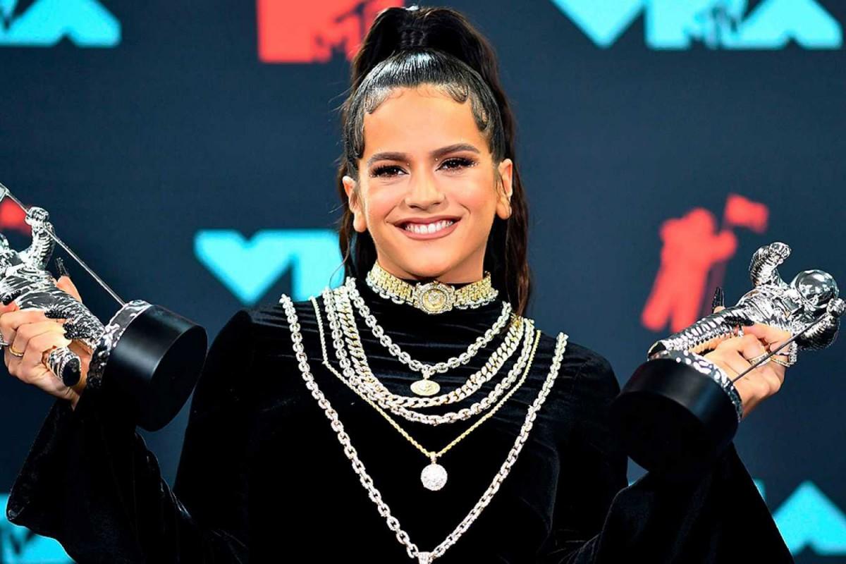 Rosalia als VMAs a Nova Jersey