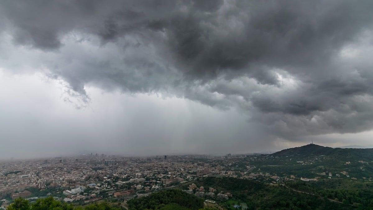 Forta tempesta a Barcelona