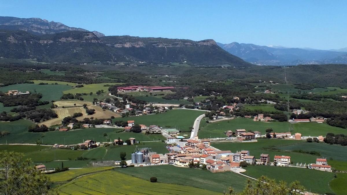 Vista aèria de Montmajor