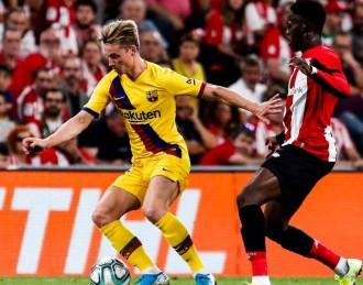 El Barça de De Jong i Griezmann arrenca la Lliga amb derrota (1-0)