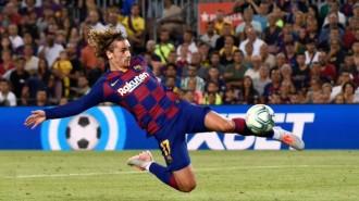 El Barça de Griezmann passa per sobre del Betis al Camp Nou (5-2)