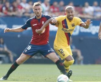 El Barça no passa de l'empat amb l'Osasuna (2-2)
