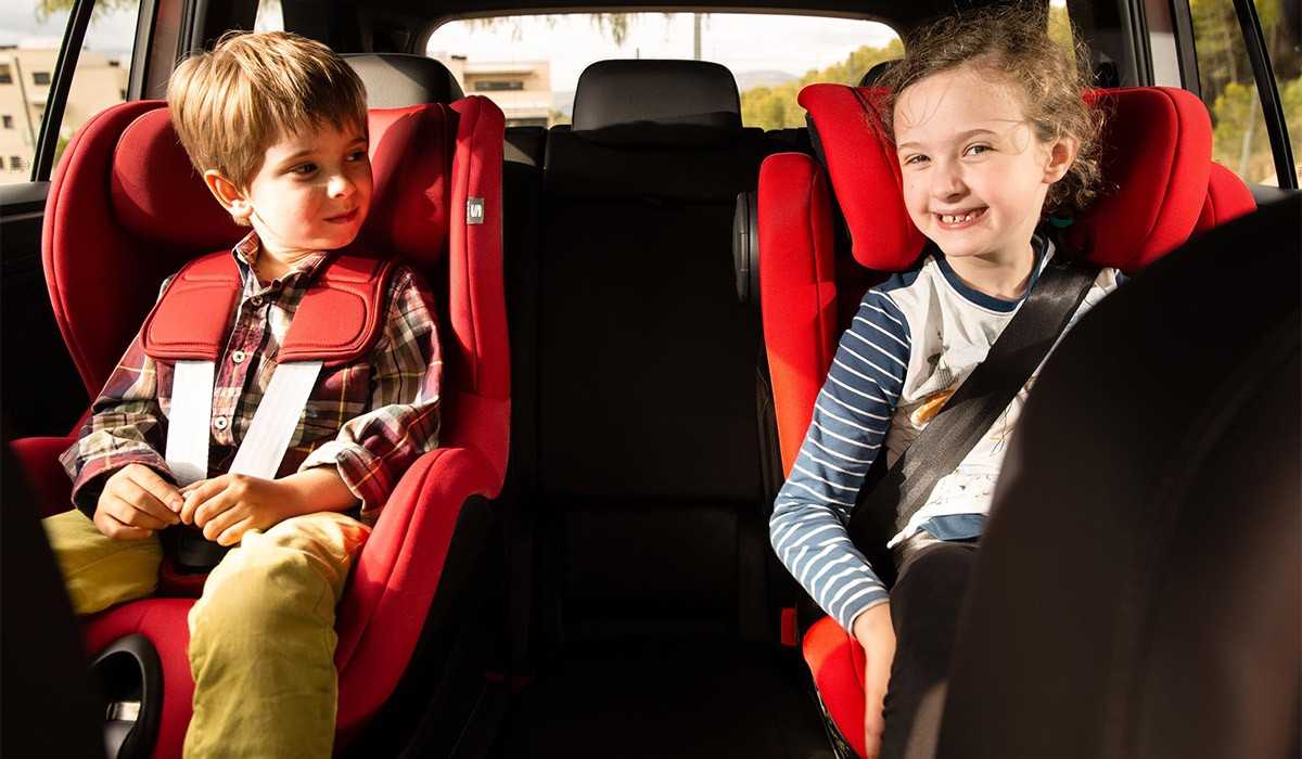 Dos de cada tres nens viatgen incorrectament en el cotxe