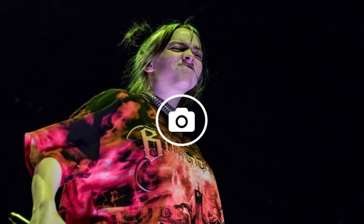 Billie Eilish al Palau Sant Jordi de Barcelona