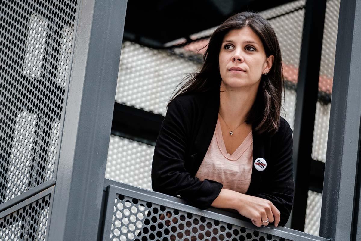 La portaveu d'ERC, Marta Vilalta, durant l'entrevista amb Nació Digital