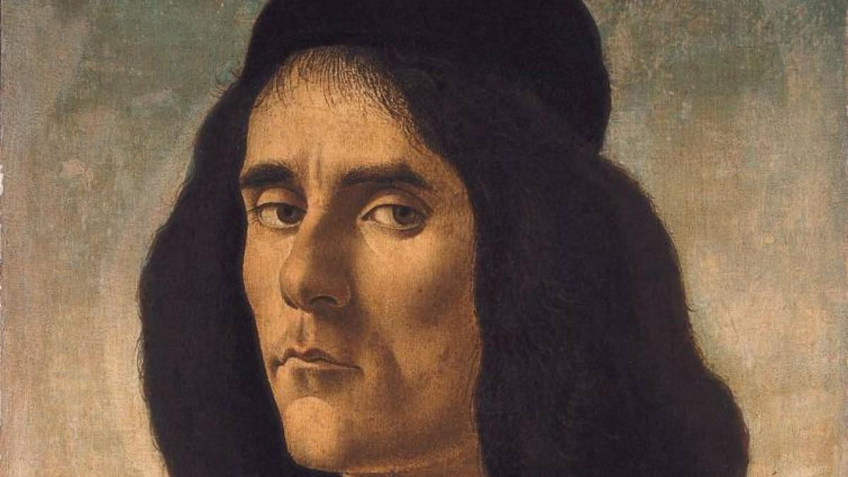 El Retrat de Michele Marullo Tarcaniota de Botticelli.