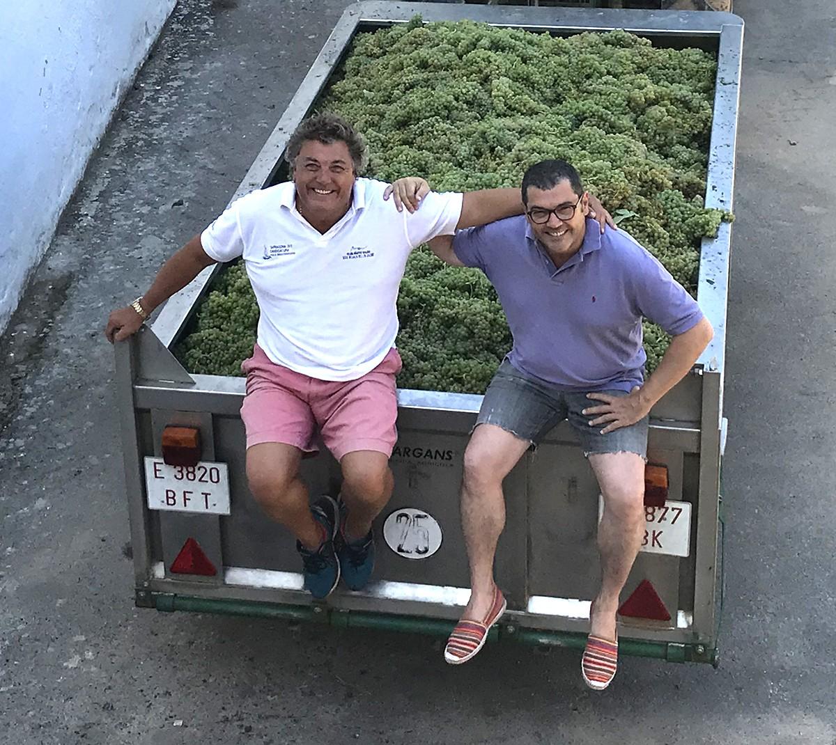 Els germans Paco i Toni de la Rosa Torelló