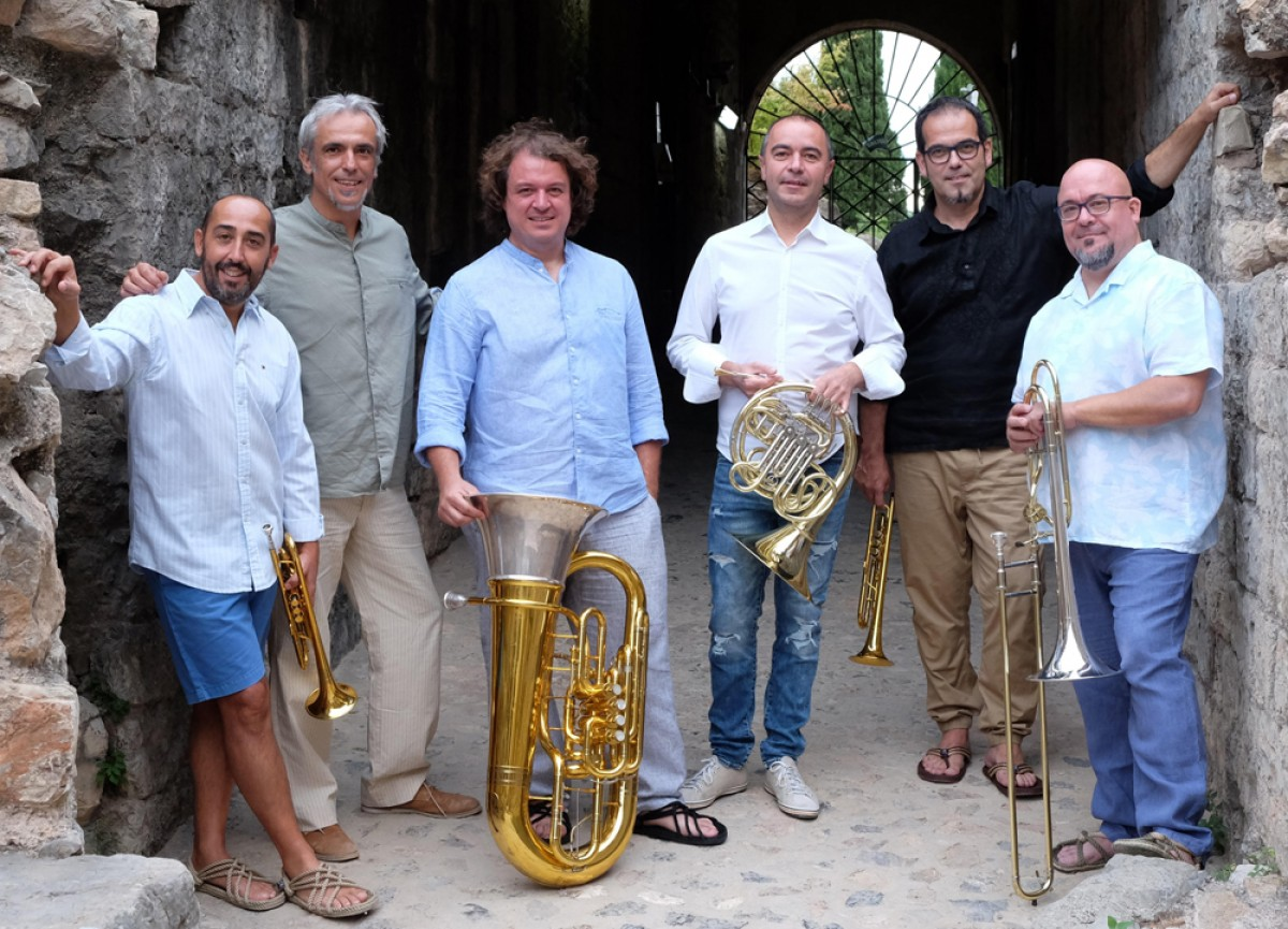 Spanish Brass i Carles Dénia