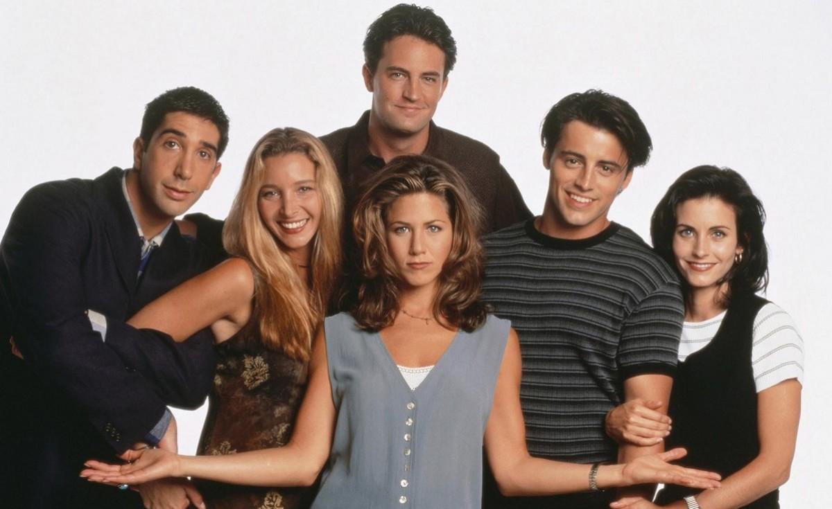 El càsting de Friends, en una imatge promocional