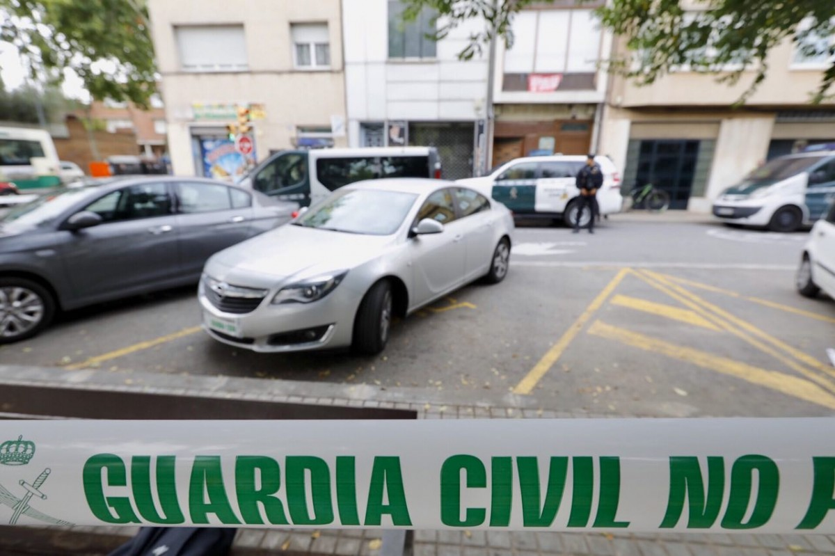L'operatiu de la Guàrdia Civil a Sabadell