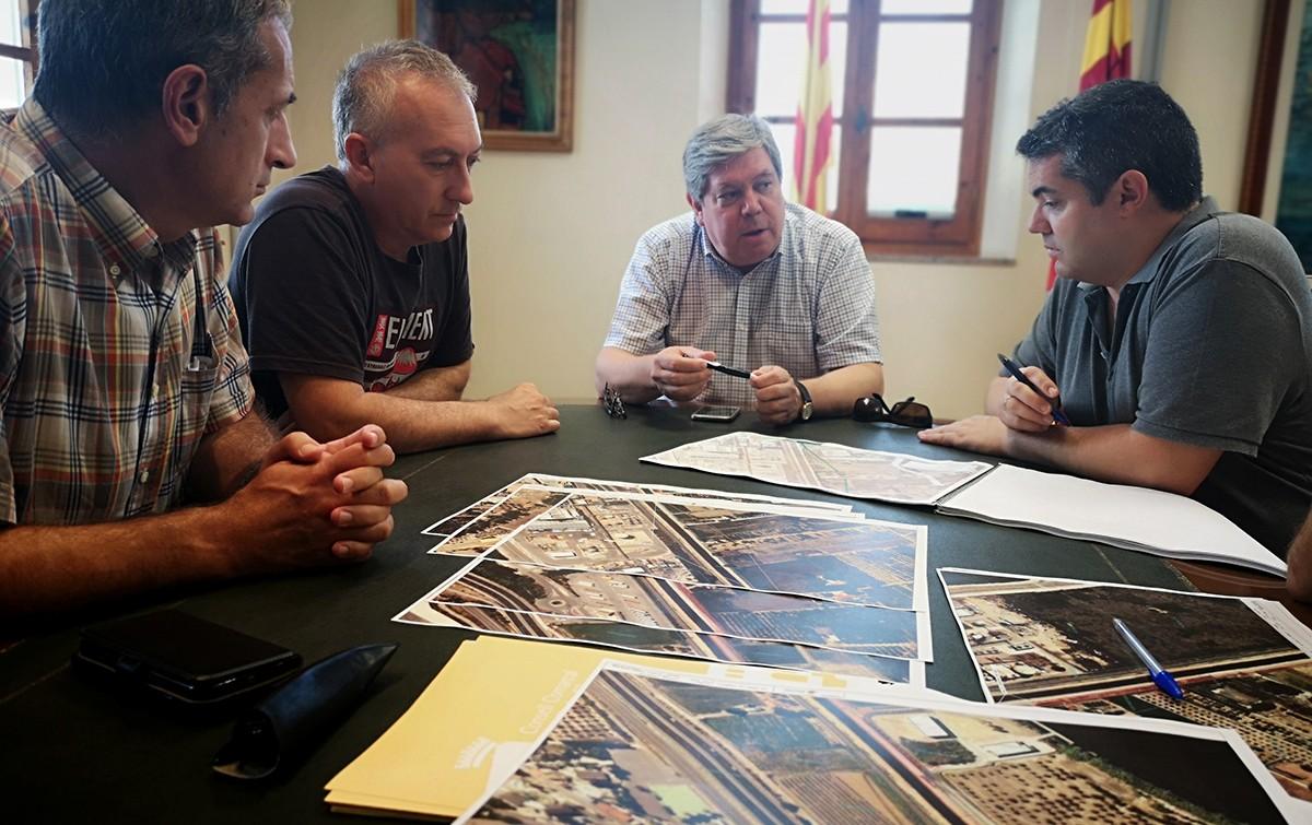 Reunió sobre el projecte de Via Verda