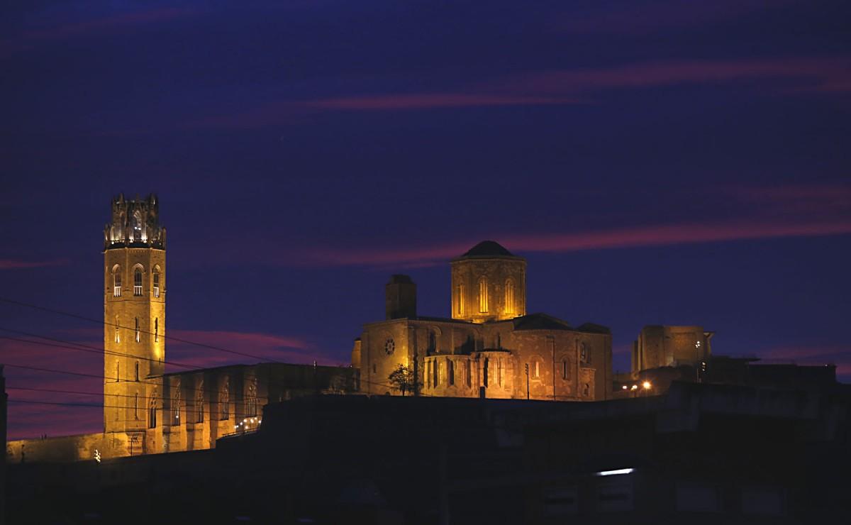 La Seu Vella, el principal monument de Lleida.