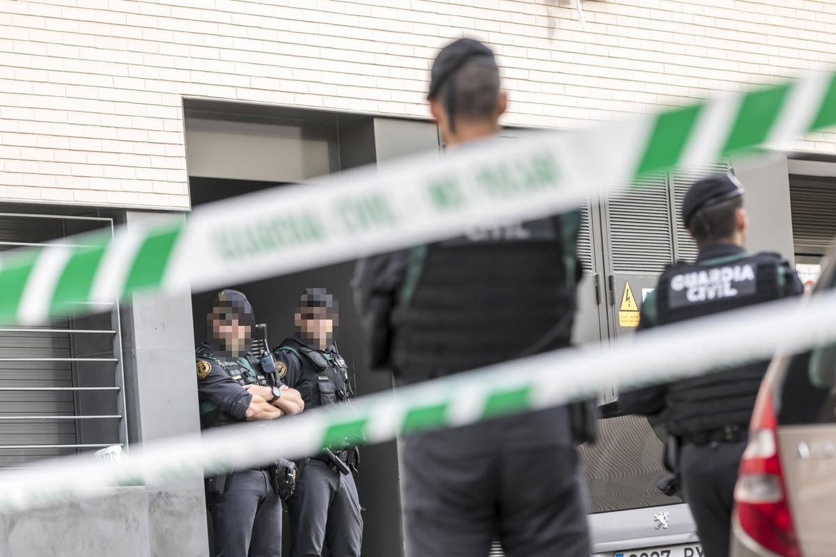 Operatiu de la Guàrdia Civil el 23 de setembre