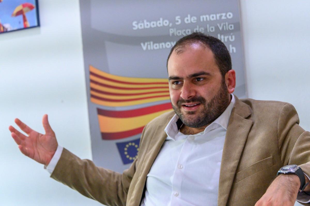 Fernando Sanchez Costa president de Societat Civil Catalana.