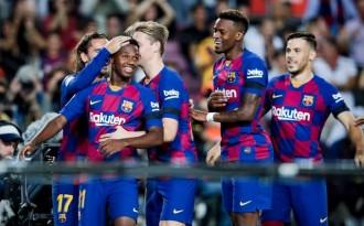 Un Barça sensacional en atac passa per sobre del València al Camp Nou (5-2)