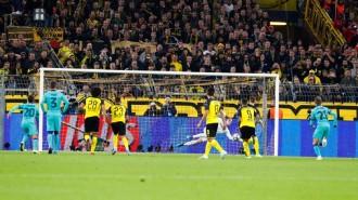 Ter Stegen salva el Barça a Dortmund en el retorn de Messi (0-0)
