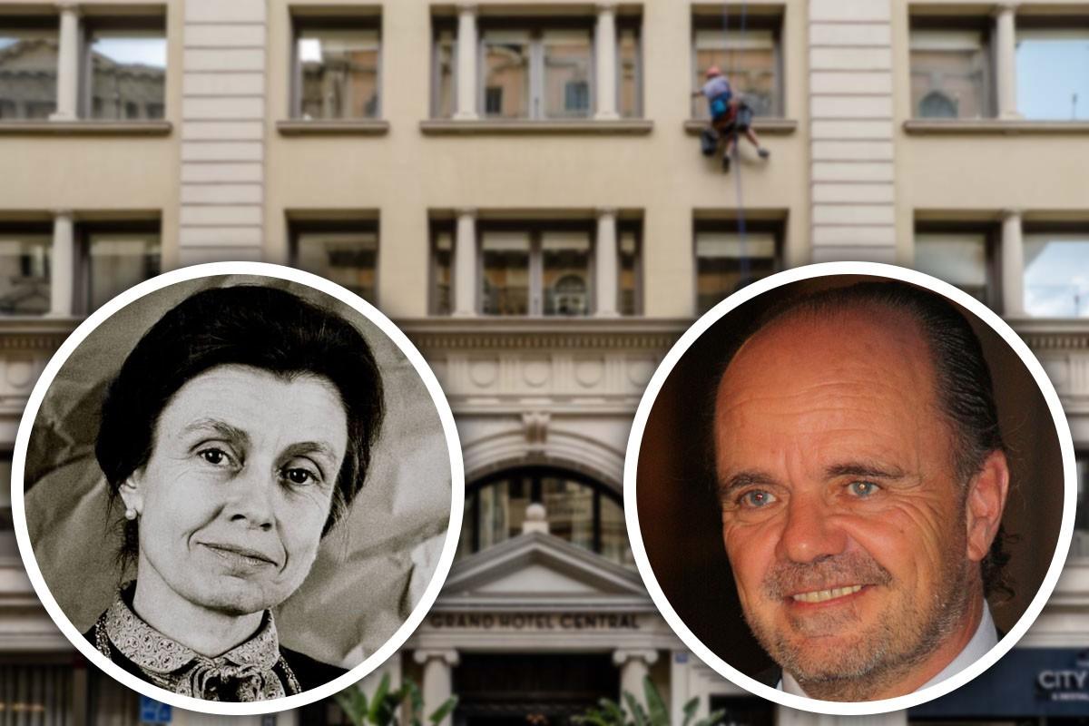 Helena Cambó Mallol i Francesc Xavier Guardans Cambó