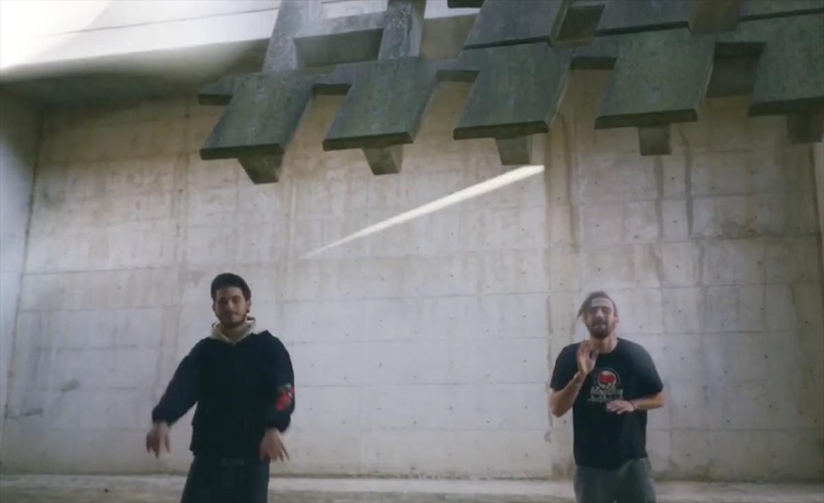 Imatge del videoclip de Resiliència.