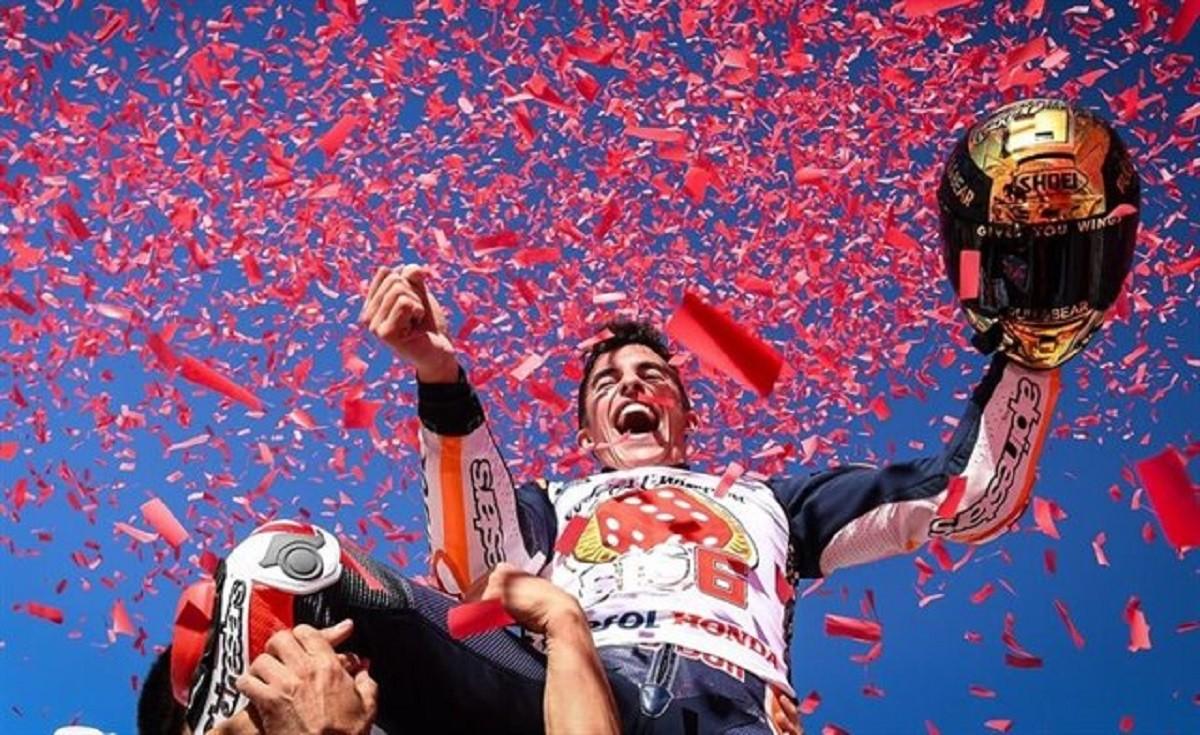 Marc Márquez, campió del món de MotoGP