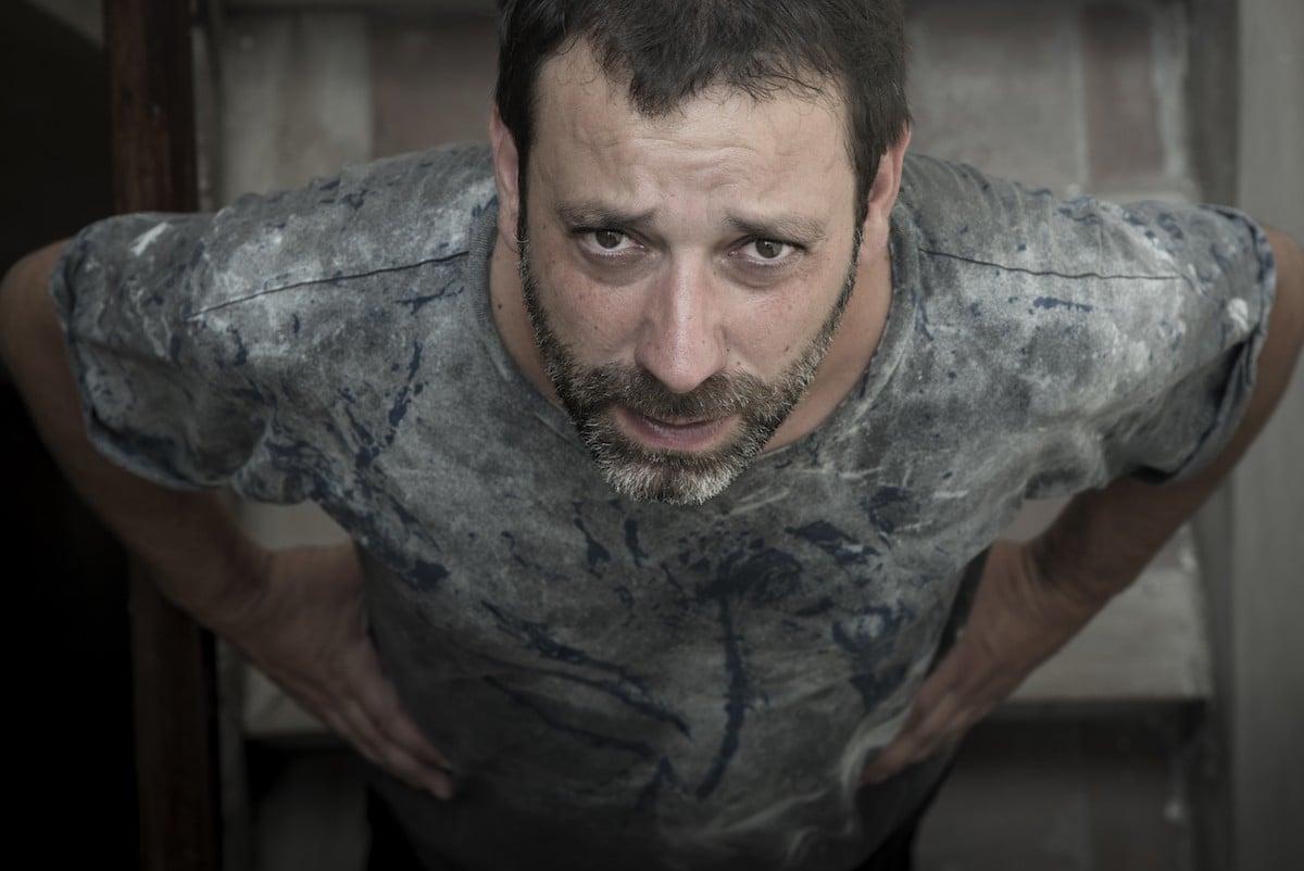 Mazoni, un del artistes que ha col·laborat en el projecte