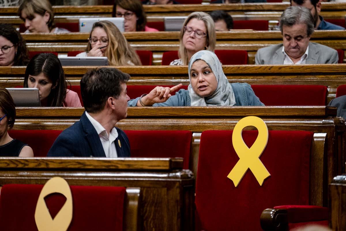 La diputada Najat Driouech sovint és víctima d'atacs xenòfobs tant a les xarxes socials com per part de formacions polítiques.
