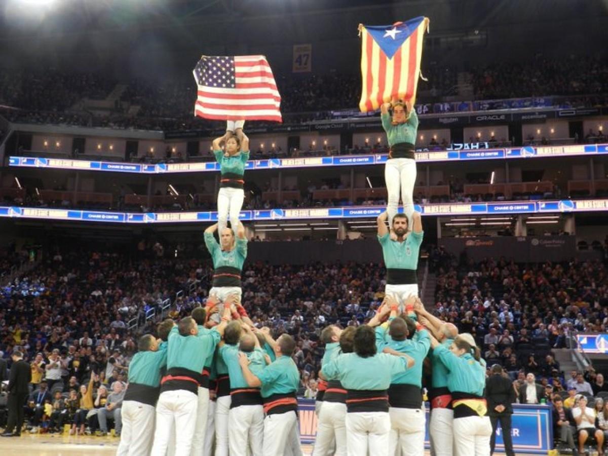Els Warriors conviden els Castellers de Vilafranca a exhibir-se al seu nou pavelló