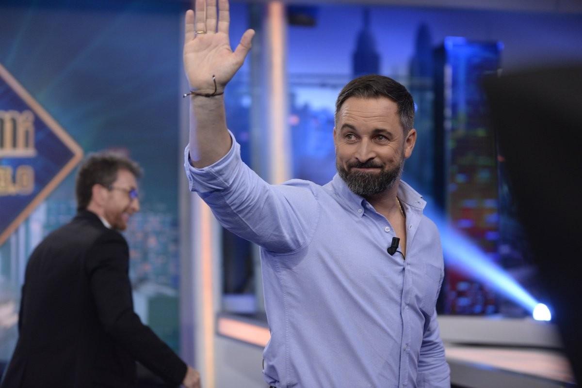 El líder de Vox, Santiago Abascal, aquest dijous a ''El hormiguero''