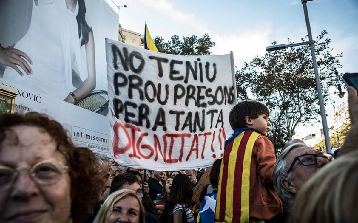 Manifestació 1-O