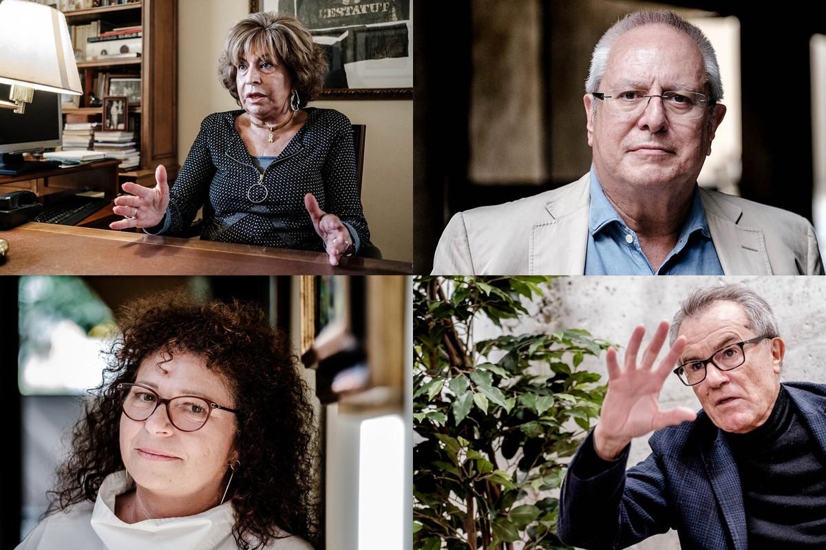 Magda Oranich, Joan Queralt, Mercè Barceló i Javier Pérez Royo