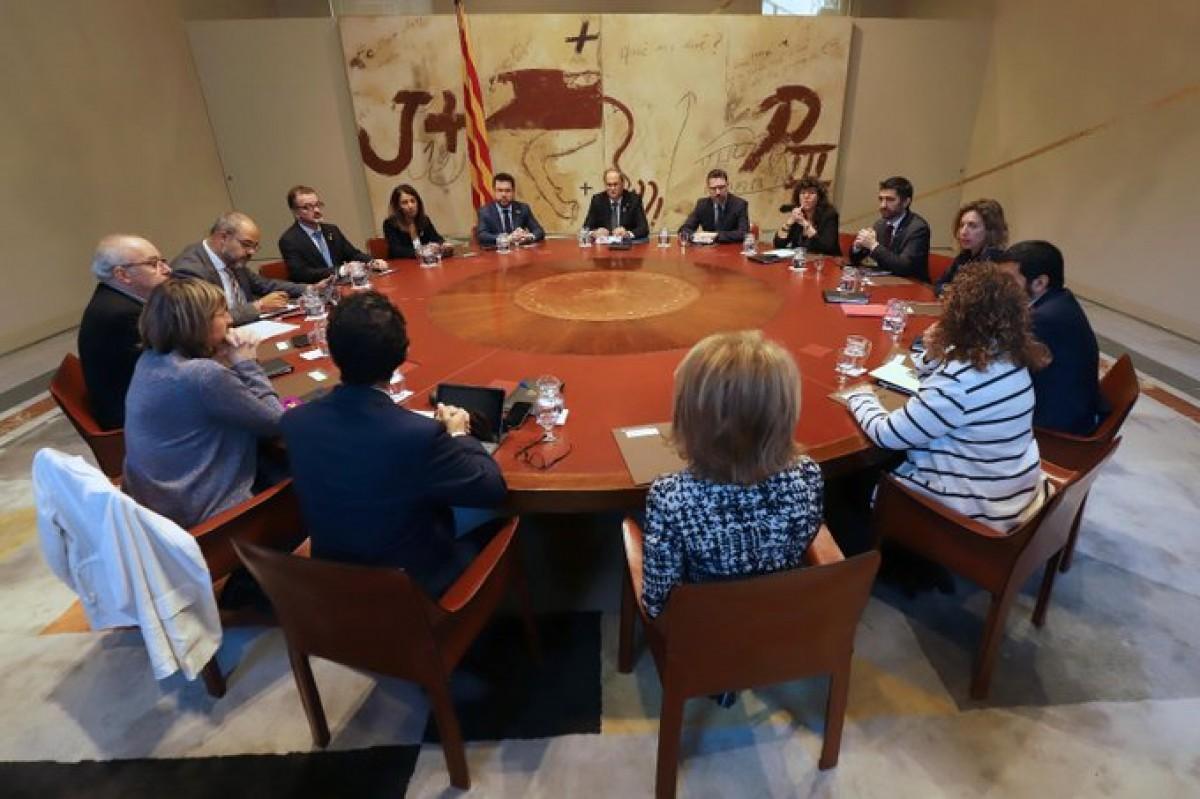 Reunió extraordinària del Govern del 15 d'octubre del 2019