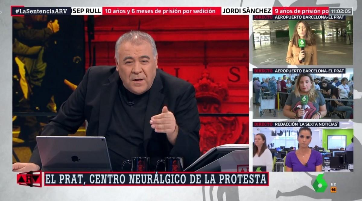 Antonio García Ferreras, ahir a ''Al Rojo Vivo''