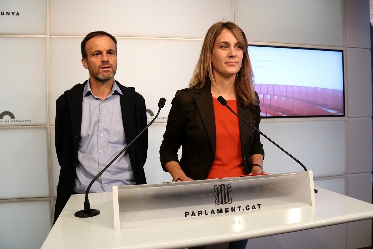 Jéssica Albiach i Jaume Asens, en una imatge d'arxiu