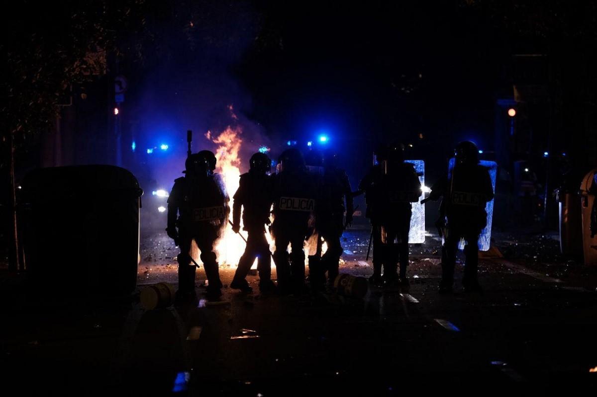 Protestes a Barcelona en la segona jornada de resposta al Suprem
