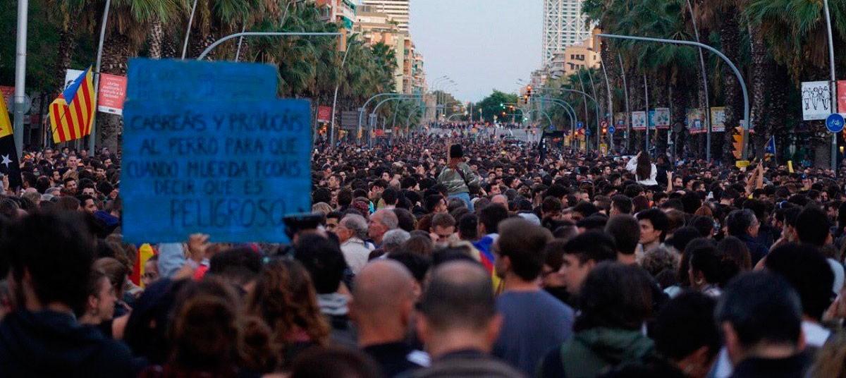 La vaga s'ha plantejat com a resposta de país a la sentència del Suprem