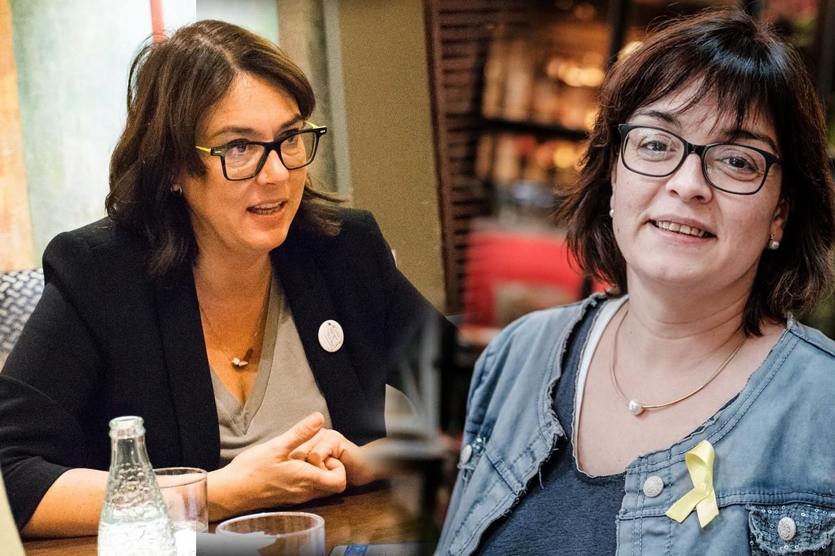 Diana Riba i Meritxell Lluís, en entrevista amb NacióDigital