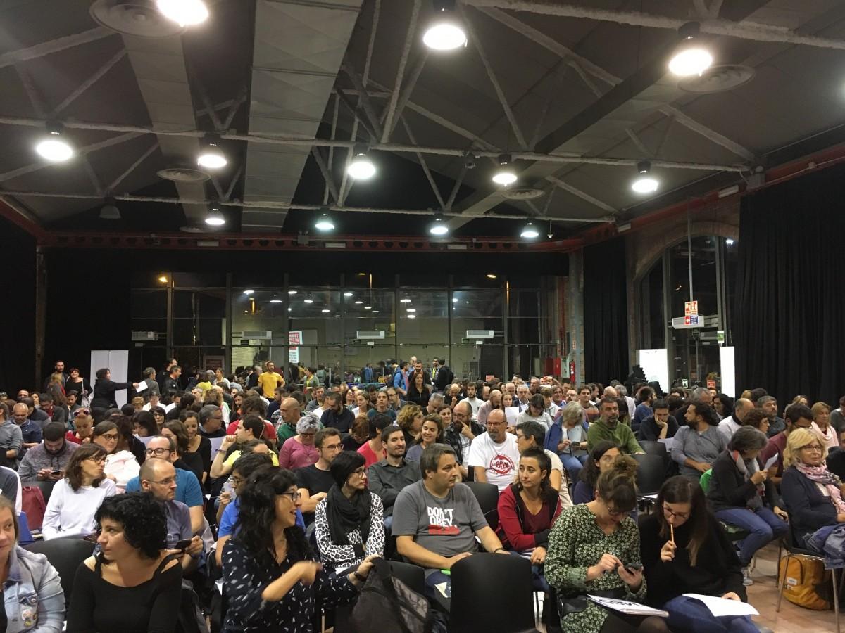 La trobada de càrrecs de la CUP ha reunit prop de 300 regidors de diverses formacions.