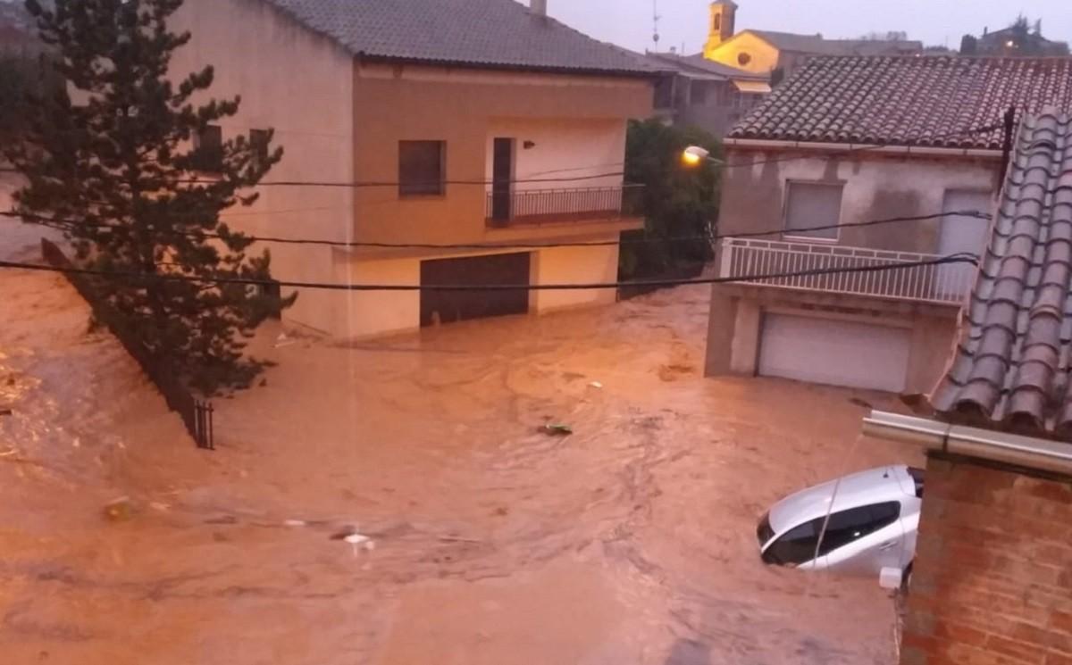 Aiguats a l'Albi, a les Garrigues.