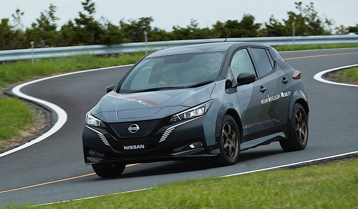 El nou motor elèctric de Nissan una tempesta de 304 Cv
