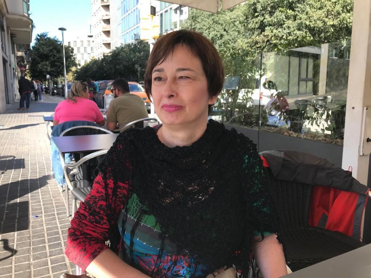 La presidenta de l'Associació de Famílies Afectades pel VHL, Susi Martínez