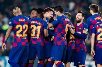El Barça destrossa el Valladolid amb un recital de Messi
