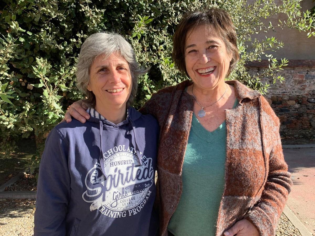 Carmen Vázquez i Teresa Barbena, impulsores del cohabitatge Sènior a la Vall Alta de la Tordera