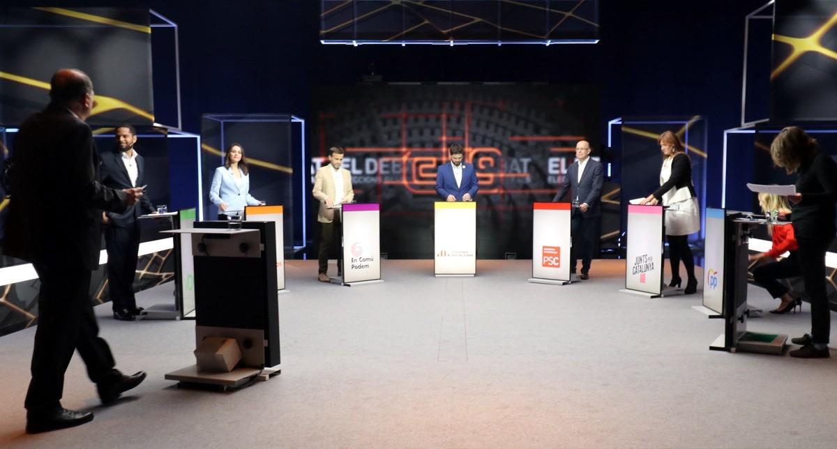 Debat electoral de les darreres eleccions espanyoles, també amb la CUP.