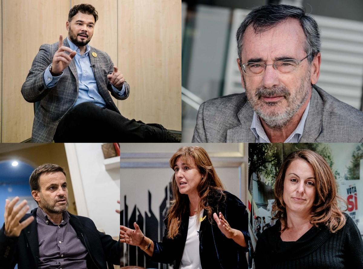 Els cinc candidats entrevistats a NacióDigital
