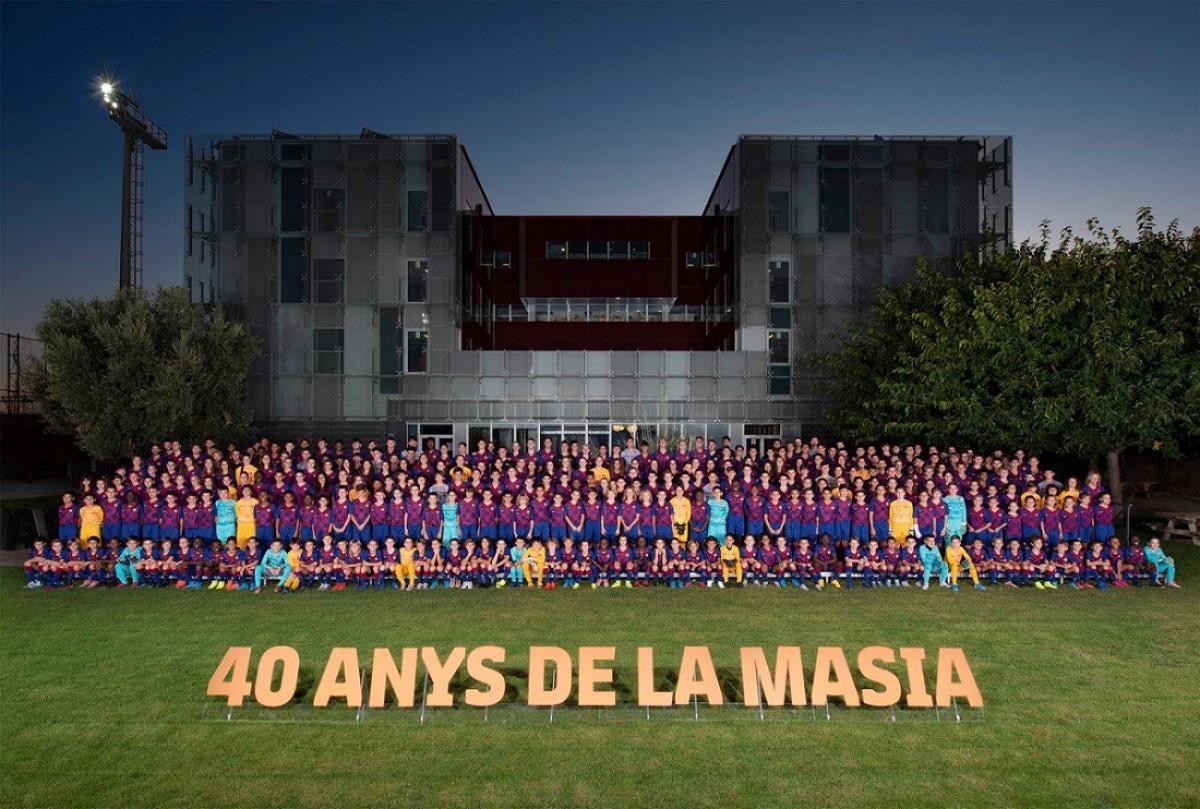 Presentació del fubol base del Barça 2019-2020