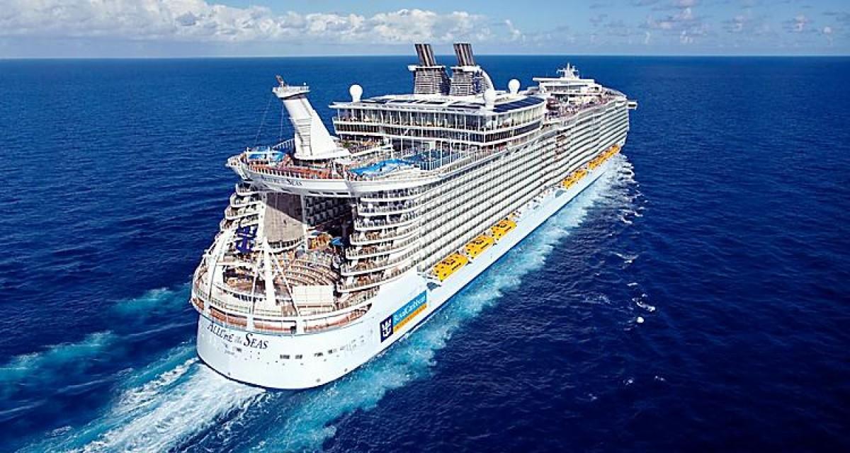 Un dels creuers de Royal Caribbean