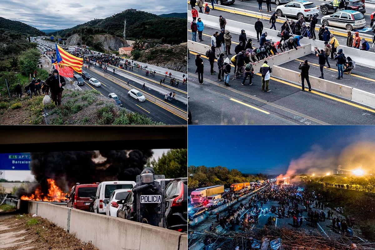 Quatre de les imatges de NacióDigital al tall del Tsunami