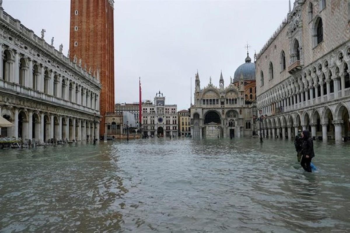 Zones emblemàtiques de Venècia han quedat devastades
