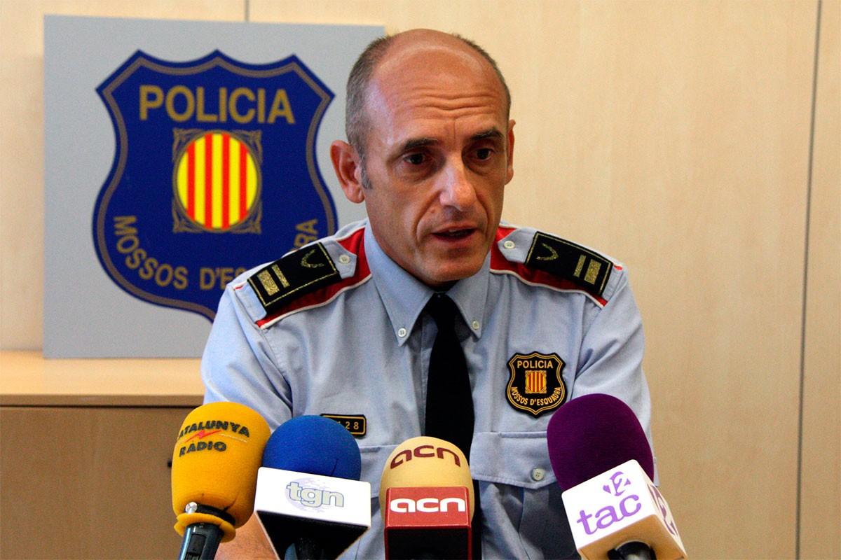 L'intendent Jaume Morón, en una foto d'arxiu.